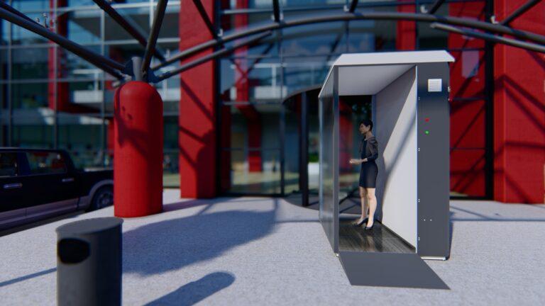 Render 3D para apresentação de produto